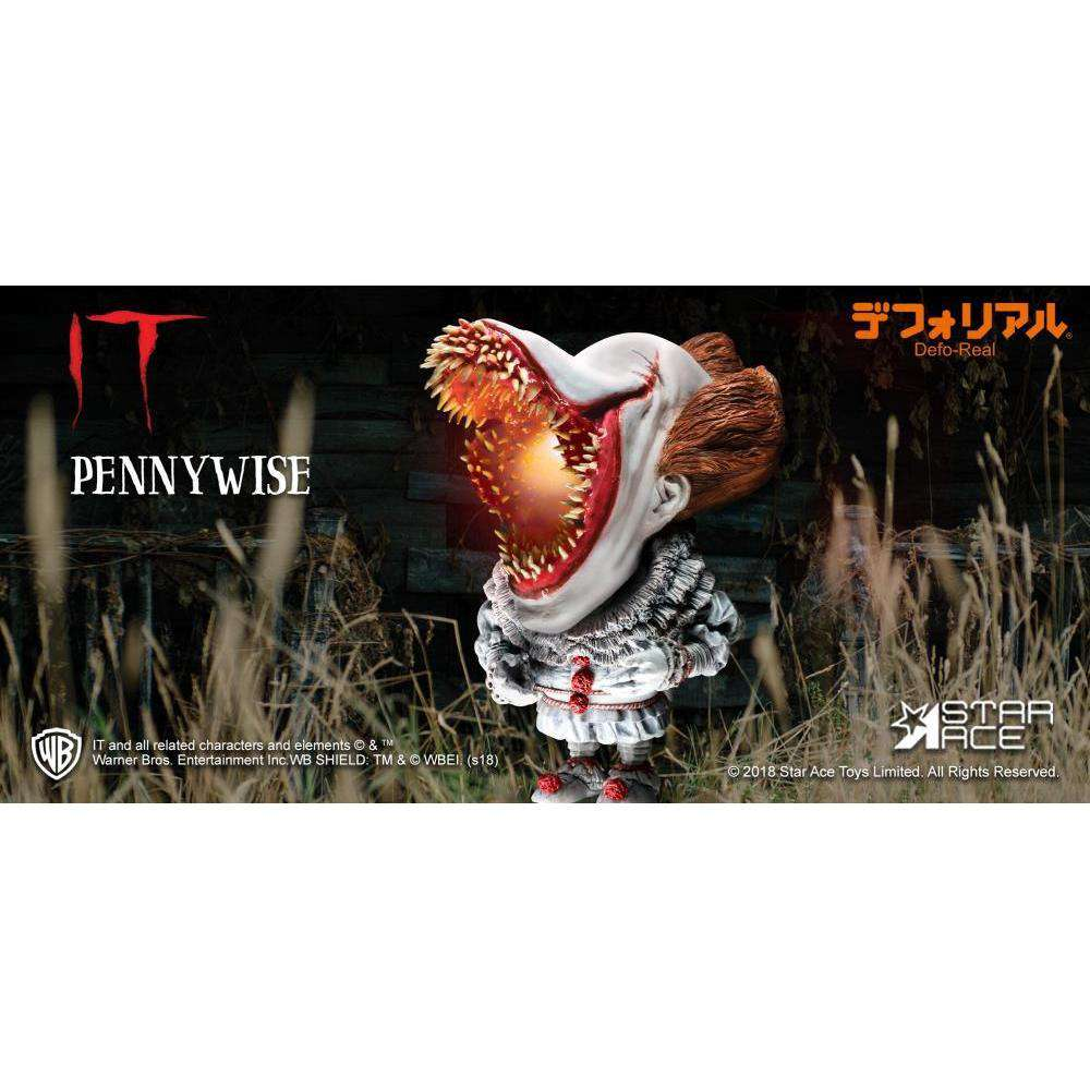 It (2017) Deform Real Series Pennywise (Open Mouth With Lights Ver.) - Q2 2019