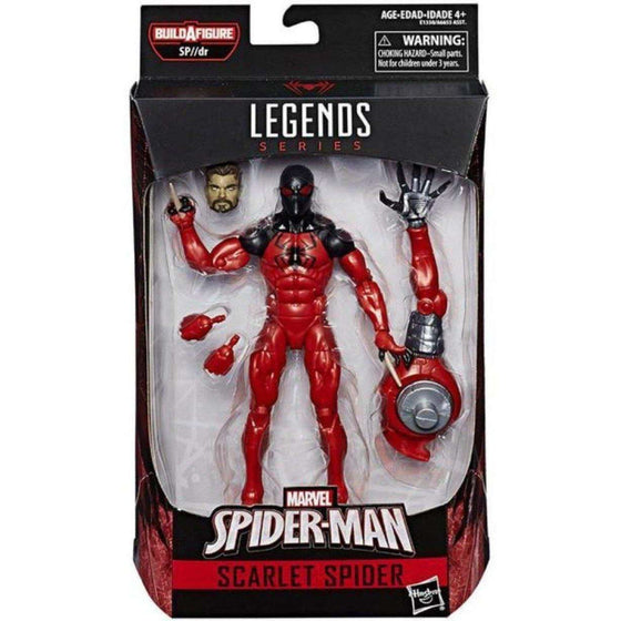 Spider-Man Marvel Legends Wave 10 (SP//DR BAF) - Scarlet Spider (Modern Ver.)