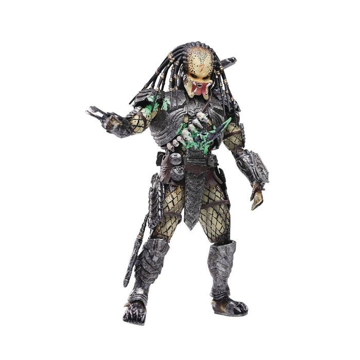 AVP Final Battle Damage Scar Predator PX 1/18 Scale Figure (Battle Damaged) - JULY 2021