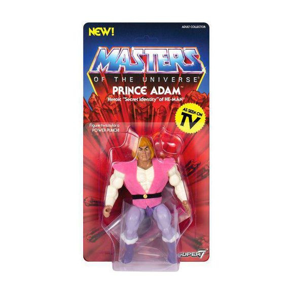 Masters of the Universe Vintage Wave 3 - Prince Adam - MARCH 2019