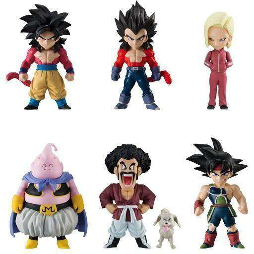 Dragon Ball Adverge Vol. 7 - Complete Box of 10 Figures  - AUGUST 2018