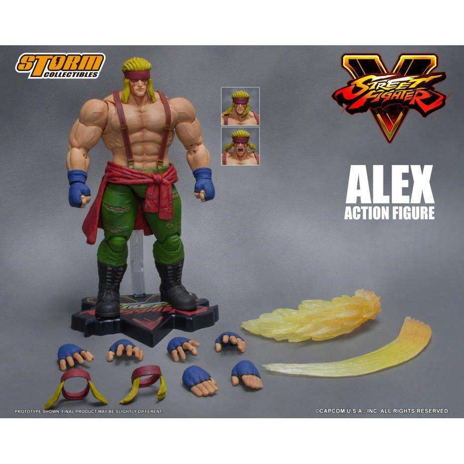 Street Fighter V - Alex 1/12 Scale Figure