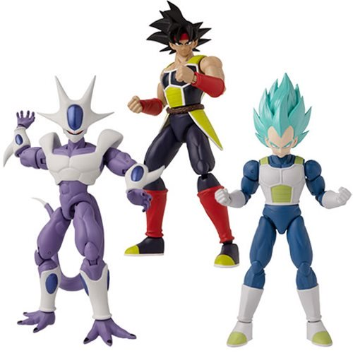 PRE ORDER Dragon Ball Super 5-Inch Action Figure Wave 1 Set of 3 by Bandai