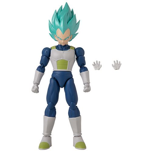 Dragon Ball Stars Super Saiyan Blue Vegeta Version 2 Action Figure - APRIL 2020