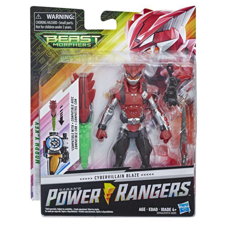 Power Rangers Beast Morphers Basic Wave 1 Cybervillain Blaze