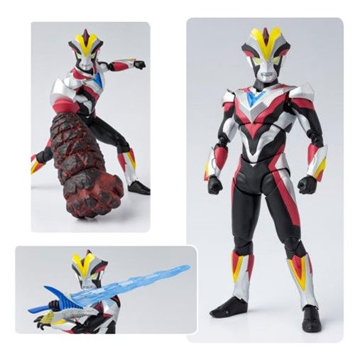 Ultraman Ginga S Ultraman Victory SH Figuarts Action Figure (DAMAGED BOX)