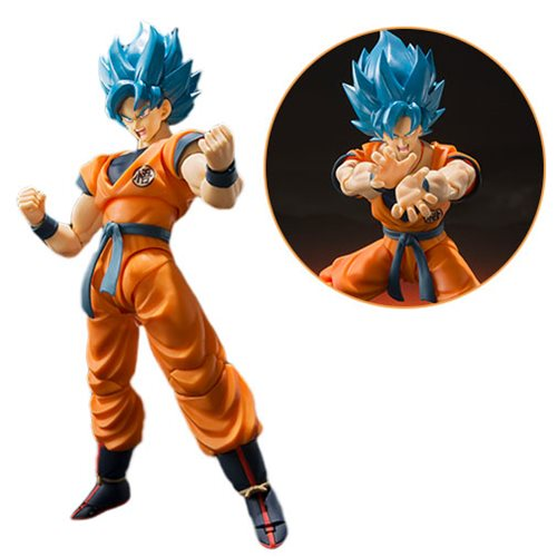 Dragon Ball Super Super Saiyan God Super Saiyan Goku SH Figuarts Action Figure - JANUARY 2020