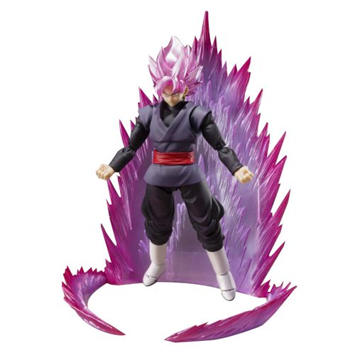 Dragon Ball Super: Super Saiyan Rose Goku Black SH Figuarts Action Figure - SDCC 2019 Exclusive