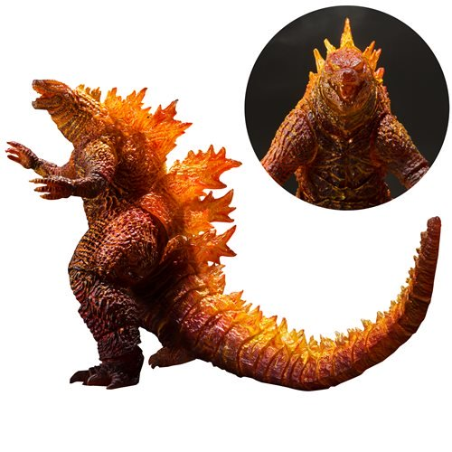 Godzilla: King of the Monsters Burning Godzilla 2019 SH MonsterArts Action Figure - MAY 2020