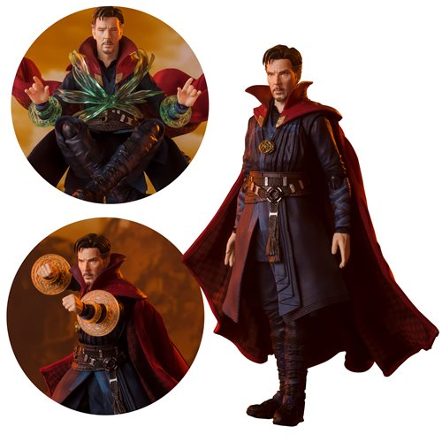 Avengers: Infinity War Doctor Strange Battle on Titan Edition SH Figuarts Action Figure - MARCH 2021