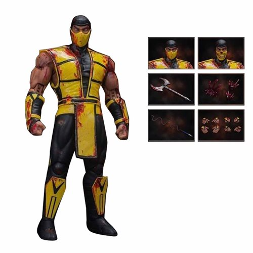 Mortal Kombat 3 Scorpion 1:12 Scale Action Figure - NYCC 2019 Exclusive
