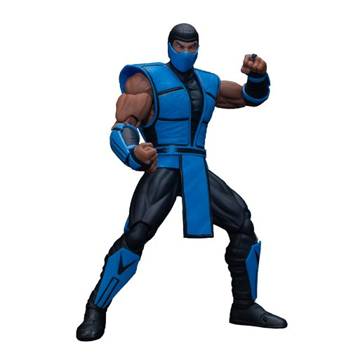 Mortal Kombat 3 Sub-Zero 1:12 Scale Action Figure - April 2020