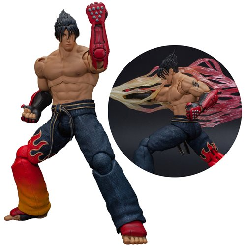 Tekken 7 Jin Kazama 1:12 Scale Action Figure - JANUARY 2021