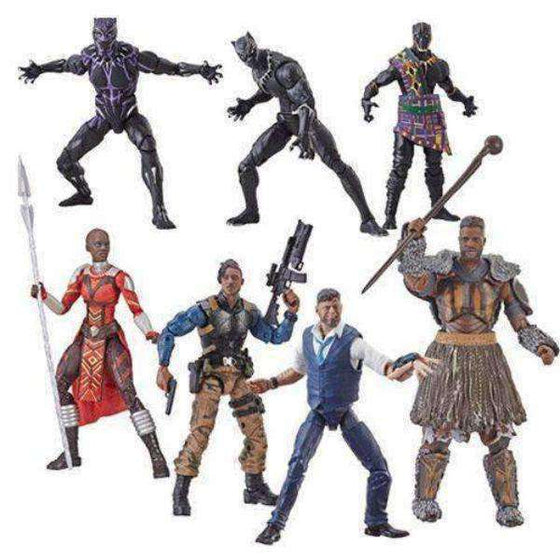 Black Panther Marvel Legends Wave 2 (M'Baku BAF) - Set of 6