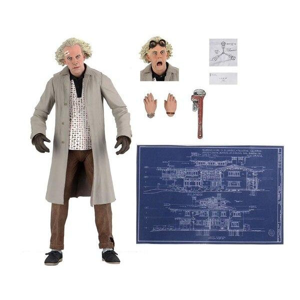 "7"" Back To The Future Ultimate Doc Brown Figure - NOVEMBER 2020"