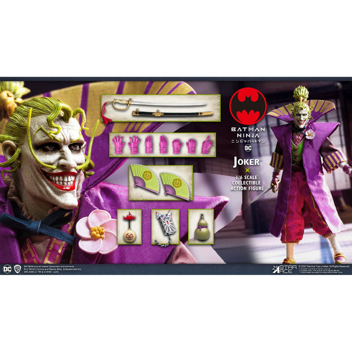Batman Ninja Joker 1:6 Scale Action Figure - MARCH 2021