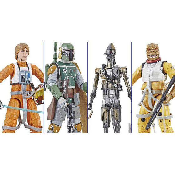 "Star Wars: The Black Series 6"" Archive Collection Wave 1 - Set of 4 - BACKORDERED SHIPS FEBRUARY"