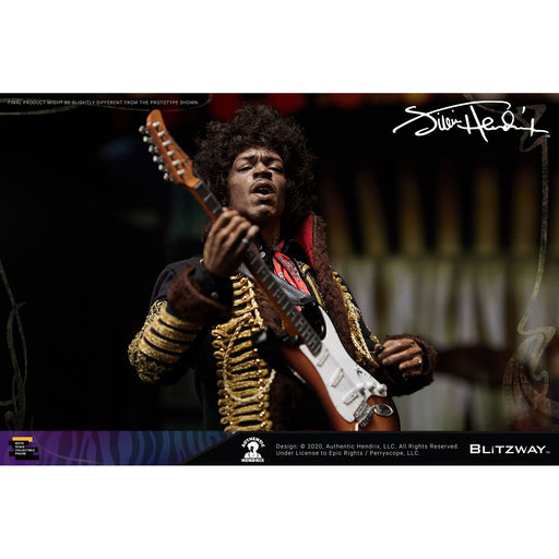 Jimi Hendrix 1/6 Scale Collectible Figure - Q4 2020