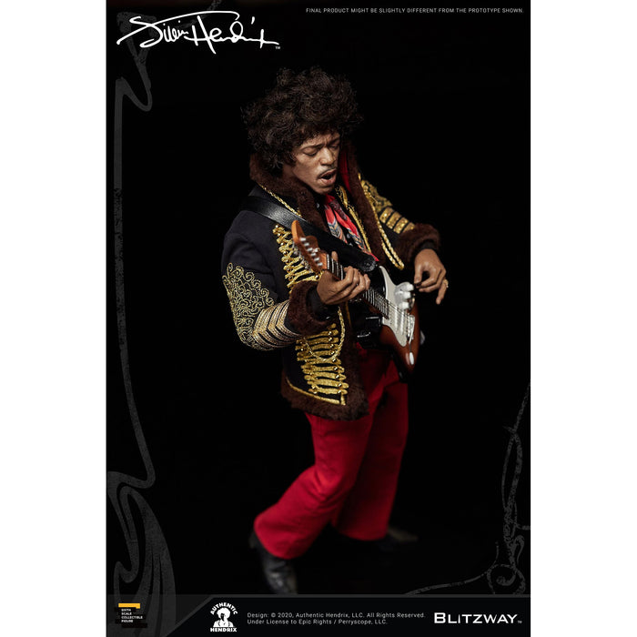 Jimi Hendrix 1/6 Scale Collectible Figure - JANUARY 2021