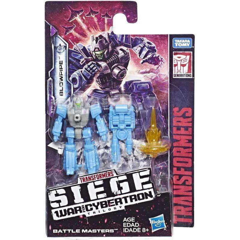 Transformers: Generations - War For Cybertron Siege Battlemasters Wave 1 - Blowpipe