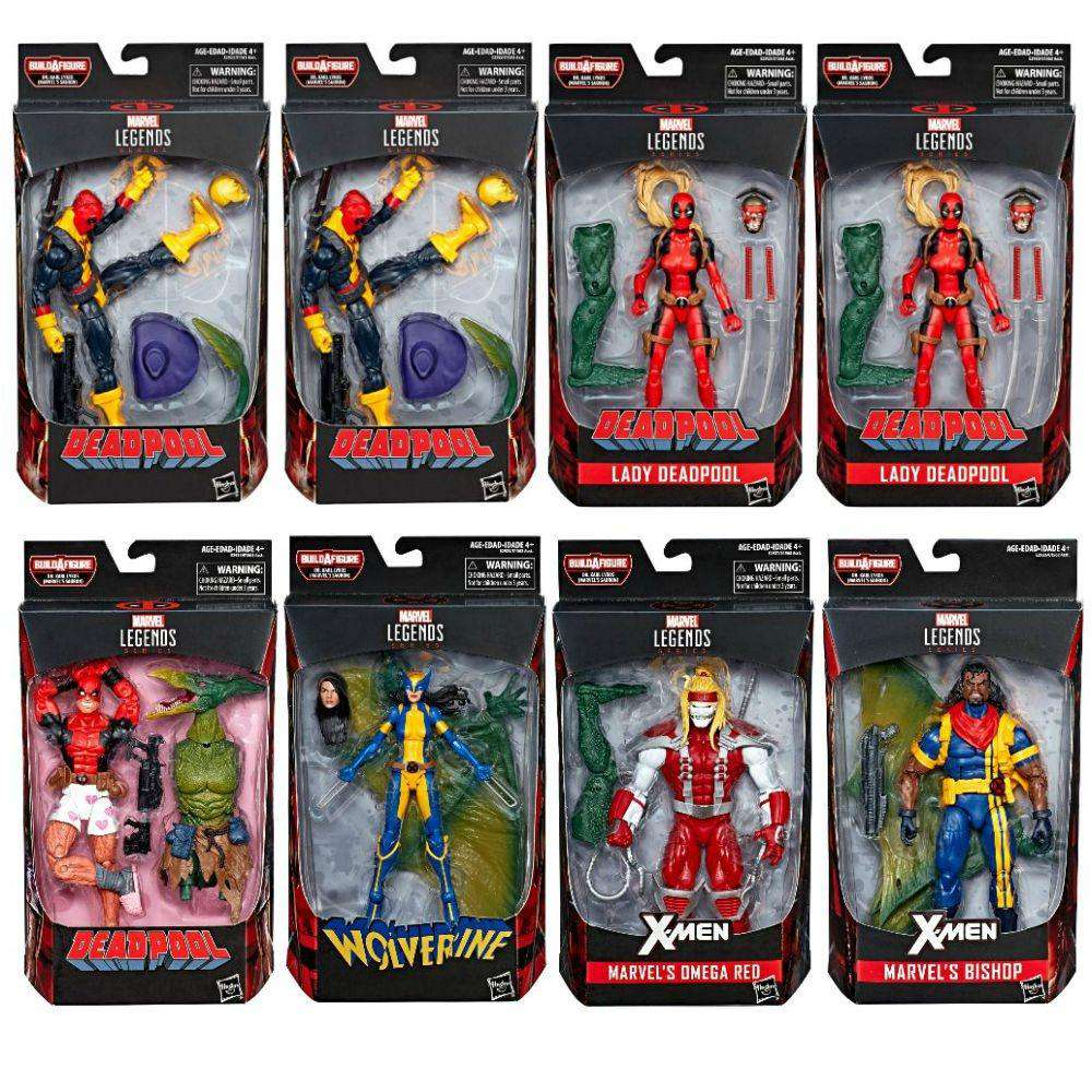 Deadpool Marvel Legends Wave 2 (Sauron BAF) - Complete Case of 8