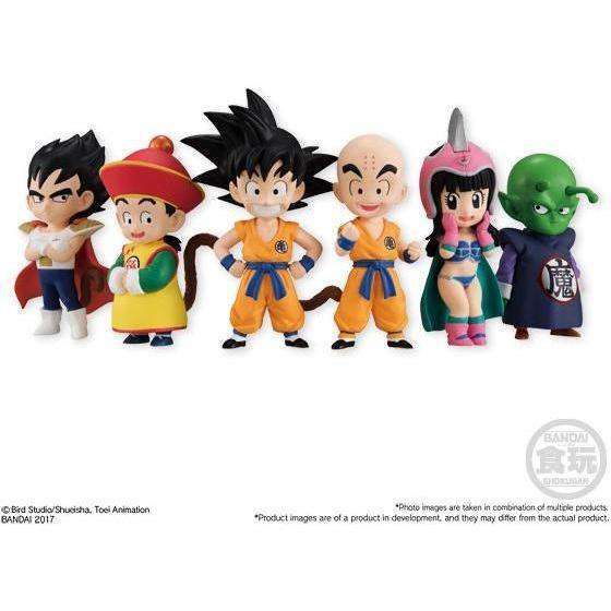 Dragon Ball Children Adverge EX Vol. 1 - Complete Box of 10 Figures (5 x Blind-Bagged Set of 2) - AUGUST 2018