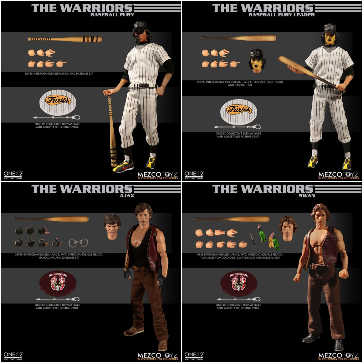 The Warriors One:12 Collective Boxed Set - DECEMBER 2019