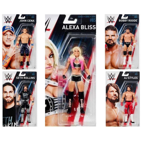 WWE Basic Series 85 - Complete Set of 5
