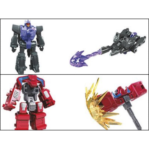 Transformers Generations War for Cybertron Siege Battle Master Wave 3 Set of 2 - Smashdown and Caliburst