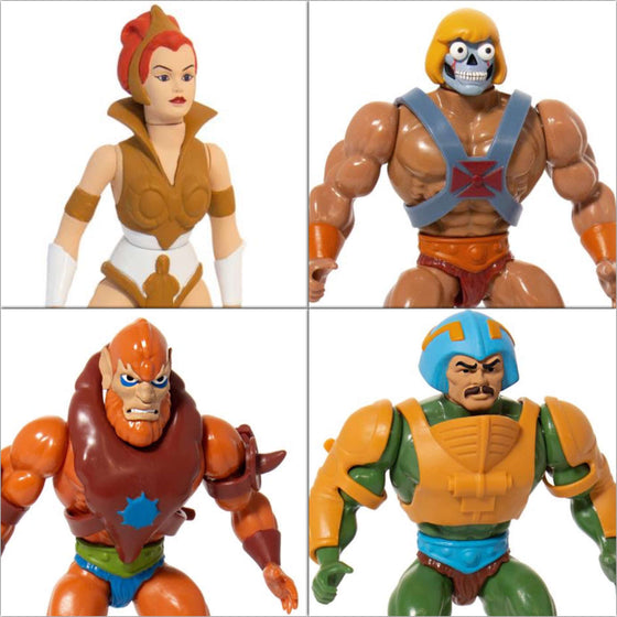 Masters of the Universe Vintage Wave 2 - Set of 4 Figures - MAY 2019