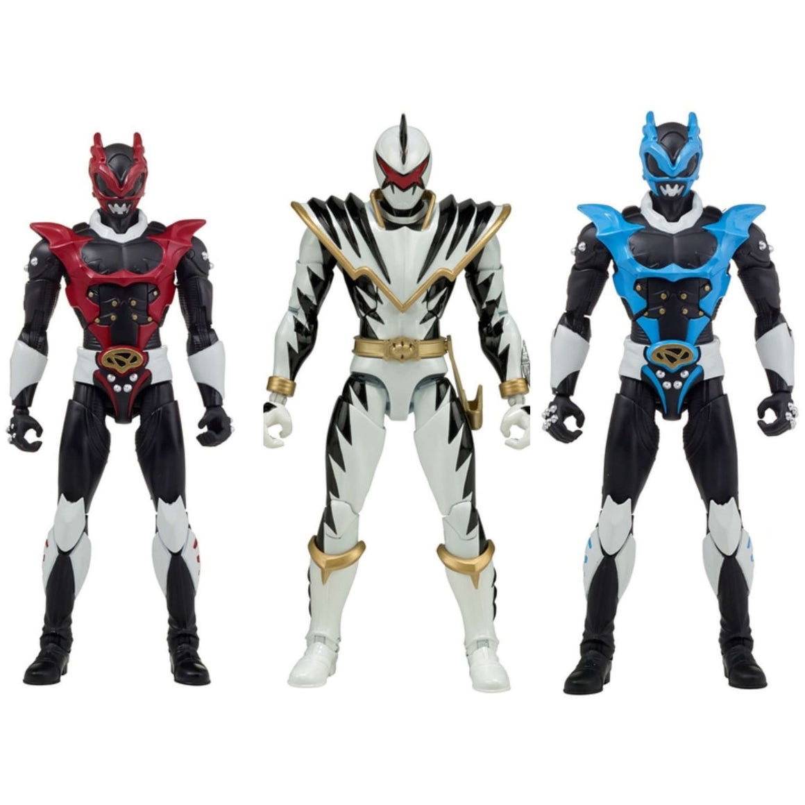 "Power Rangers Legacy 6"" Wave 7 Set of 3 Figures"