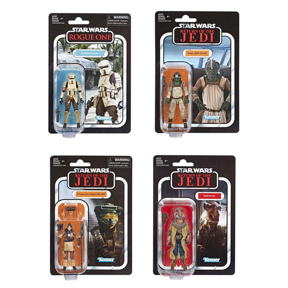 Star Wars: The Vintage Collection Wave 4 Set of 4 Figures - FEBRUARY 2019