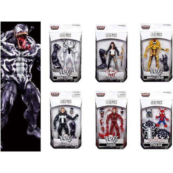 Venom Marvel Legends Wave 1 Case of 8  (Monster Venom BAF)