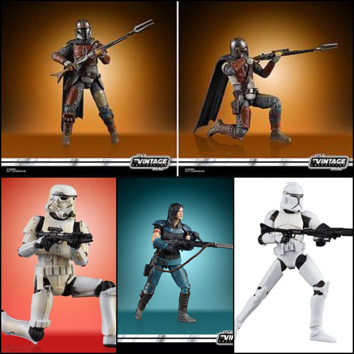 "Star Wars The Vintage Collection Wave 3 (ROS) - Set of 4 3.75"" Action Figures"