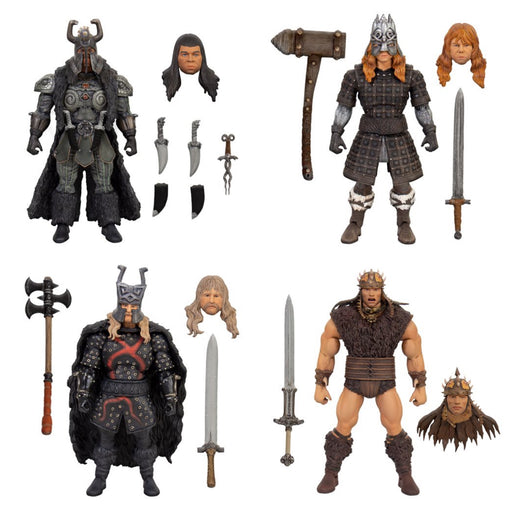 Conan the Barbarian Ultimates 7-Inch Action Figure - Set of 4 - Q1 2021