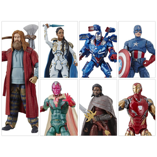 Avengers: Endgame Marvel Legends 6-Inch Action Figures Wave 3 (Fat Thor BAF) - Set of 6