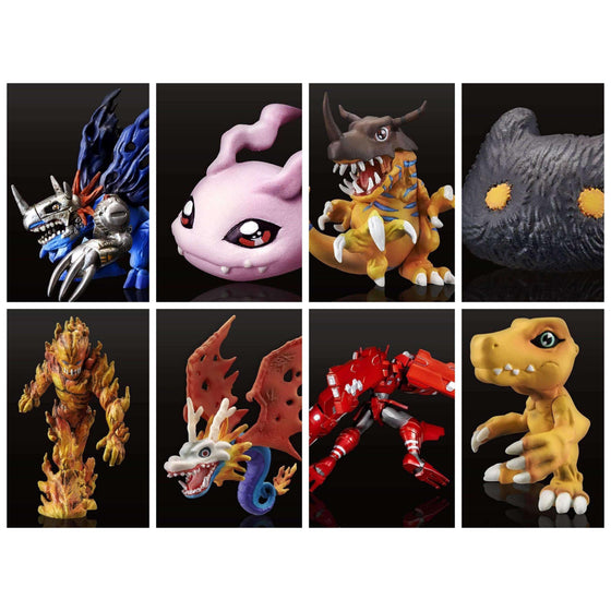 Digimon Digital Monster Capsule Mascot Collection Premium Vol 1.0 Box of 8 Figures - MARCH 2019