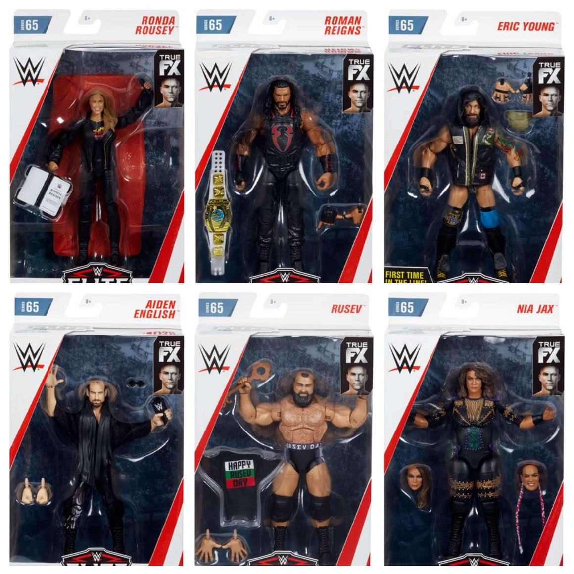 WWE Wrestling Elite Series 65 - Set of 6 Action Figure