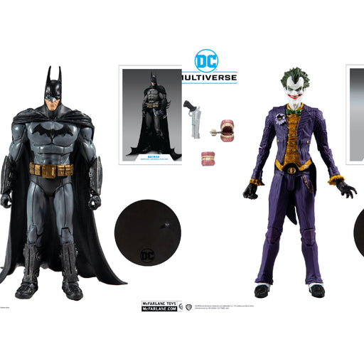 DC Multiverse (Batman: Arkham Asylum) - Set of 2
