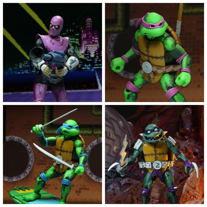 "TMNT: Turtles in Time - 7"" Scale Action Figures - Set of 4"