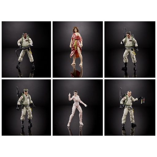 Ghostbusters Plasma Series Wave 1 6-Inch Action Figure - Set of 6