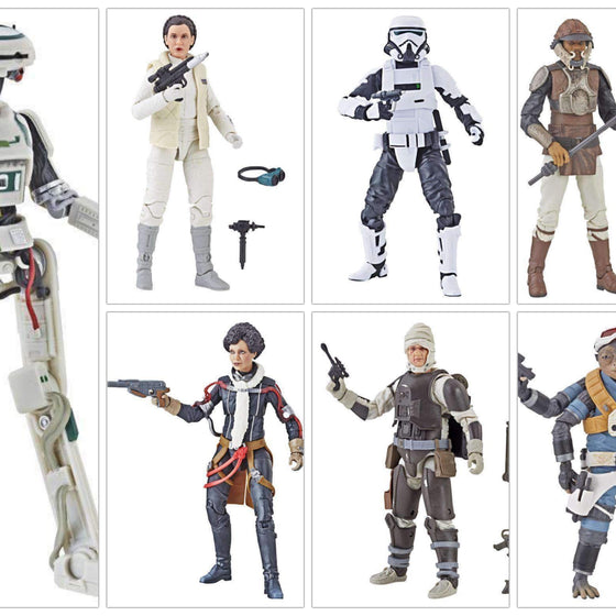 "Star Wars The Black Series 6"" Action Figure Wave 19 - Set of 7"