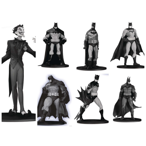 Batman Black and White Mini Figure Box Set #3 - SEPTEMBER 2019