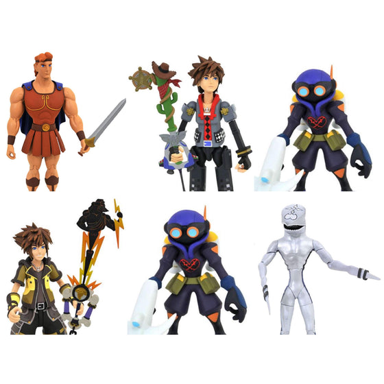 Kingdom Hearts III Select Wave 2 Set of 3 Two-Packs - Q3 2019