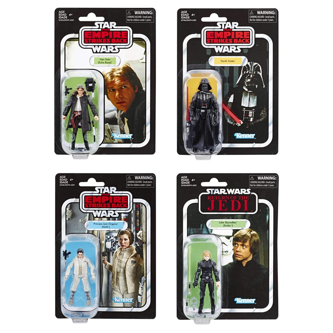 Star Wars The Vintage Collection Action Figures Wave 5 - Set of 4