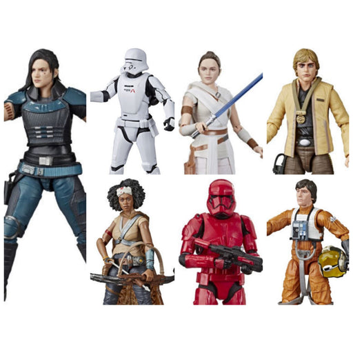 Star Wars The Black Series 6-Inch Action Figures Wave 23 - Set of 7