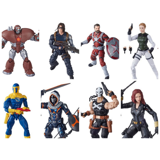 Black Widow Marvel Legends 6-Inch - Set of 7 - (Crimson Dynamo BAF)- APRIL 2020