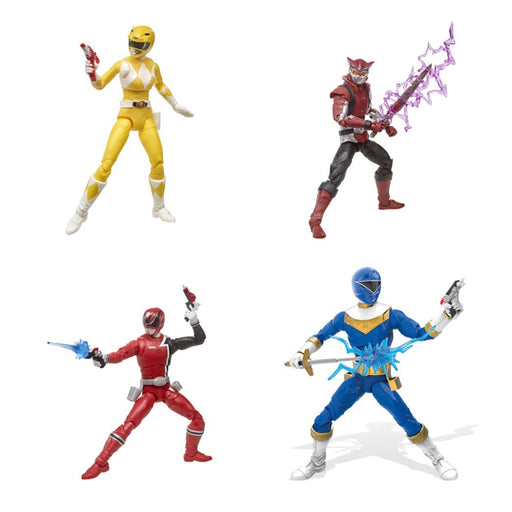 Power Rangers Lightning Collection 6-Inch Figures Wave 4 - Set of 4