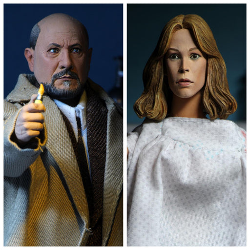 "Halloween 2 - 8"" Scale Clothed Figure - Doctor Loomis & Laurie Strode 2-Pack - JULY 2020"
