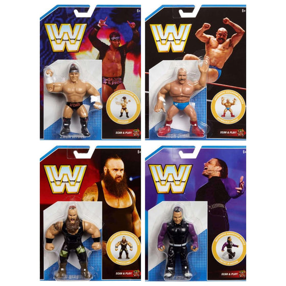 WWE Retro Series 8 - Set of 4 - MARCH 2019